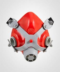 Respirador 1/4 facial Mig 12 Vermelha